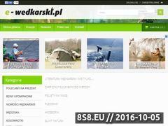 Miniaturka domeny e-wedkarski.pl