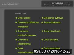 Miniaturka domeny www.e-wizytowki.net