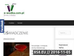 Miniaturka domeny e-wodka.com.pl