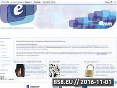 Miniaturka domeny e-zam.pl