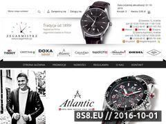Miniaturka domeny e-zegarmistrz.pl