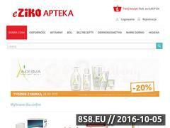 Miniaturka domeny www.e-zikoapteka.com.pl