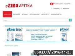 Miniaturka domeny www.e-zikoapteka.pl