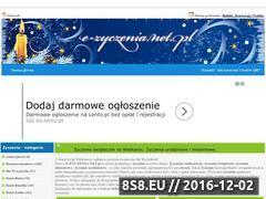 Miniaturka domeny e-zyczenia.net.pl
