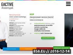 Miniaturka domeny eactive.pl