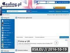 Miniaturka domeny www.ealing.pl