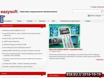 Zrzut strony Programowanie mikrokontrolerów