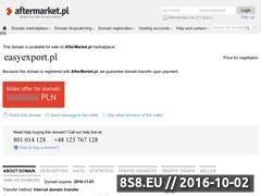 Miniaturka domeny www.easyexport.pl