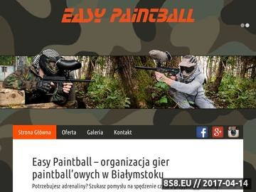 Zrzut strony Zawody paintballowe - Easypaintball.pl