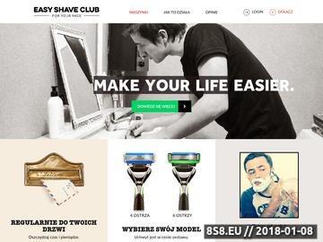 Zrzut strony Maszynki do golenia