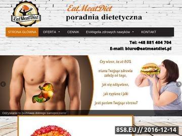 Zrzut strony Poradnia dietetyczna - odchudzanie