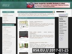 Miniaturka domeny www.ebaja.pl