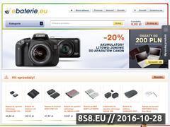 Miniaturka domeny www.ebaterie.eu