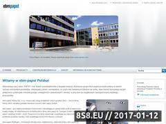 Miniaturka domeny ebmpapst.pl