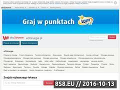 Miniaturka domeny echirurgia.pl
