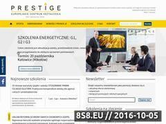 Miniaturka domeny eck-prestige.pl