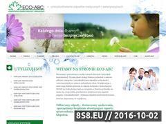 Miniaturka domeny eco-abc.com.pl