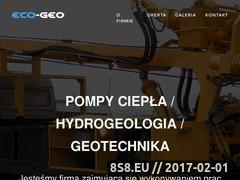 Miniaturka domeny www.eco-geo.pl