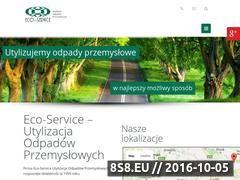 Miniaturka domeny www.eco-service.com.pl