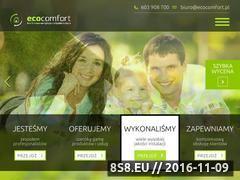 Miniaturka domeny www.ecocomfort.pl