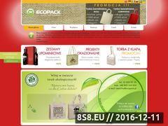 Miniaturka domeny www.ecopack.pl