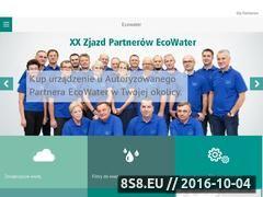 Miniaturka domeny ecowater.pl