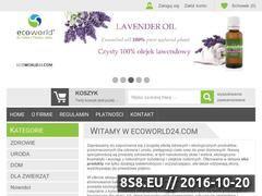 Miniaturka domeny www.ecoworld24.com