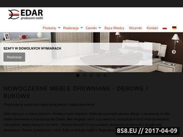 Zrzut strony Edar Meble drewniane