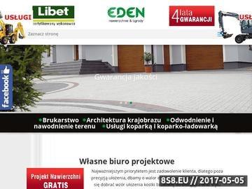Zrzut strony Układanie kostki brukowej w Radomiu