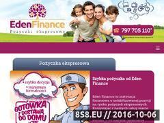 Miniaturka Pożyczki na dowód (edenfinance.pl)