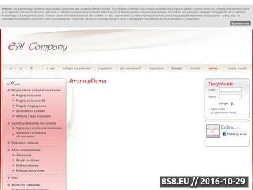 Zrzut strony Manekiny dziecięce - Edi.com.pl