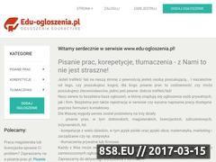 Miniaturka Pisanie prac (www.edu-ogloszenia.pl)