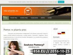 Miniaturka domeny edu-pisanie.eu