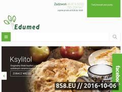 Miniaturka domeny www.edumed.com.pl