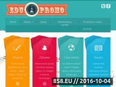 Miniaturka domeny www.edupromo.pl