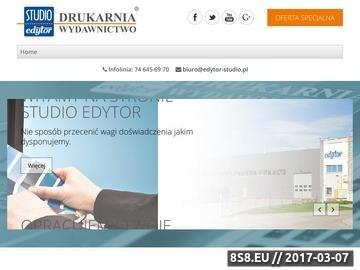 Zrzut strony Druk książek Wrocław