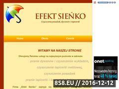 Miniaturka domeny www.efektteresasienko.republika.pl
