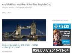 Miniaturka domeny effortlessenglishclub.pl