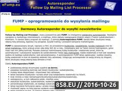 Miniaturka domeny efump.eu