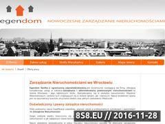 Miniaturka domeny egendom.pl