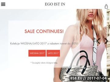 Zrzut strony Sklep z markową odzieżą damską i męską