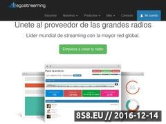 Egostreaming - Crear Radio Online Website