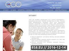 Miniaturka domeny egoterapia.com.pl