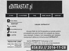 Miniaturka domeny www.eintrastat.pl