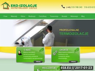 Zrzut strony Docieplenia Domów Ekofiber Eko-Izolacje