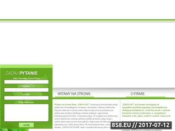 Zrzut strony Ochrona środowiska w firmie