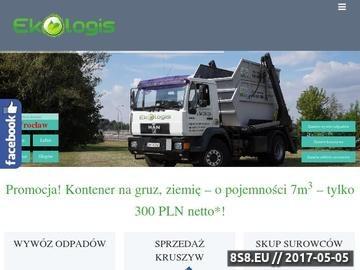 Zrzut strony Tanio, szybko i sprawnie - kontenery na gruz i śmieci - EKO-LOGIS