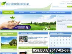 Miniaturka domeny eko-samorzadowiec.pl