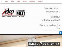Miniaturka domeny eko2000.bytom.pl