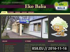 Miniaturka domeny www.ekobalia.pl